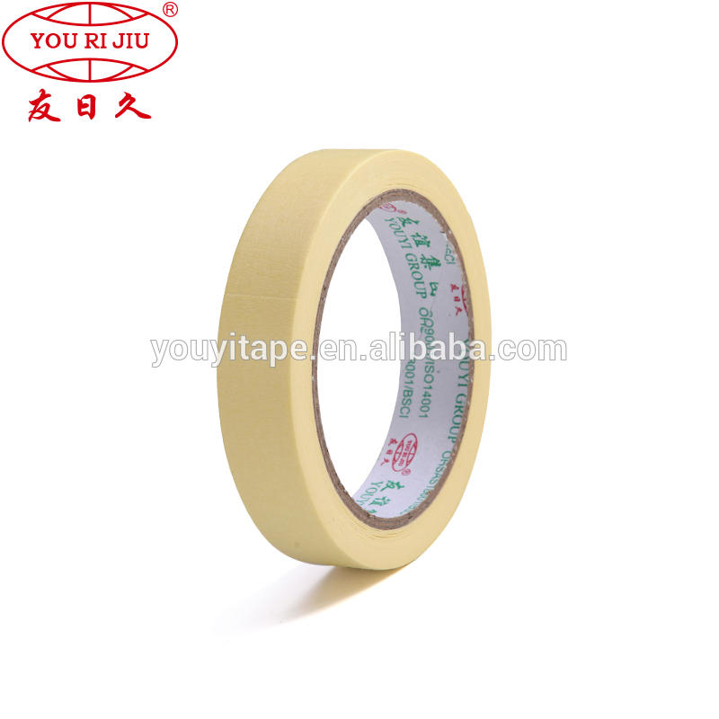 High Temperature Automotive Type Masking Tape Paper Tape