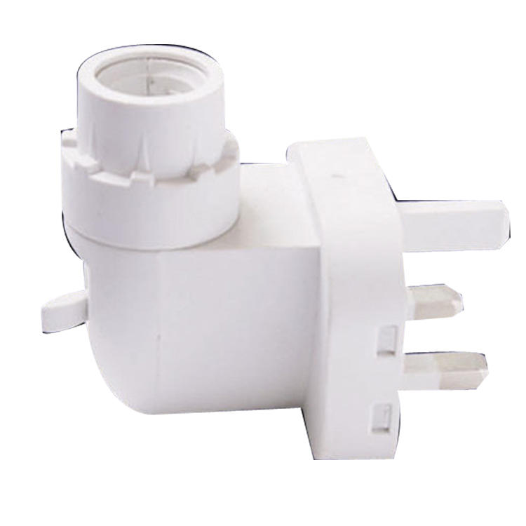 E14 BS UK 093A lamp socket plug in CE ROHS approved salt night light electrical with lamp holder and 220V or 240V