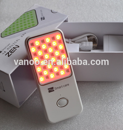 handheld PDT led light therapy beauty device