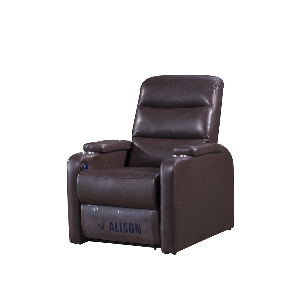 Home Theater seater cinema chair reccliner movie leather single chair