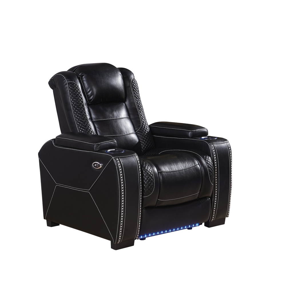Home Cinema Furniture Leather Recliner Sofa Sets Modern sofa power recliner home theater chair-3816
