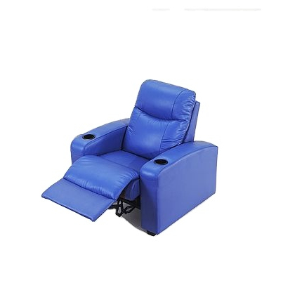 2021 Electric Power Recliner Chair Faux Leather Home Theater Individual Seating