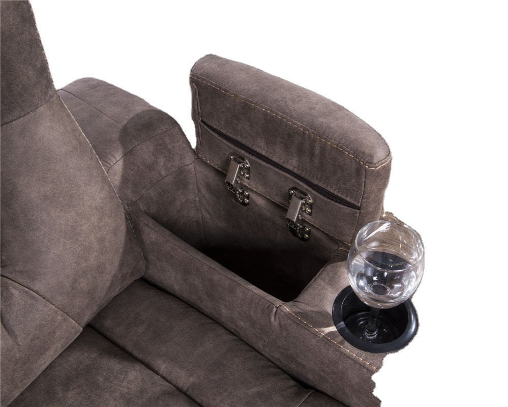 2021 power recliner fabric chair with power headrest