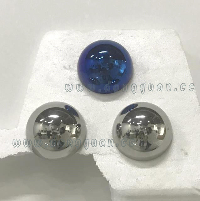 Chrome Plated Hollow Stainless Steel Half Ball with Screw Thread