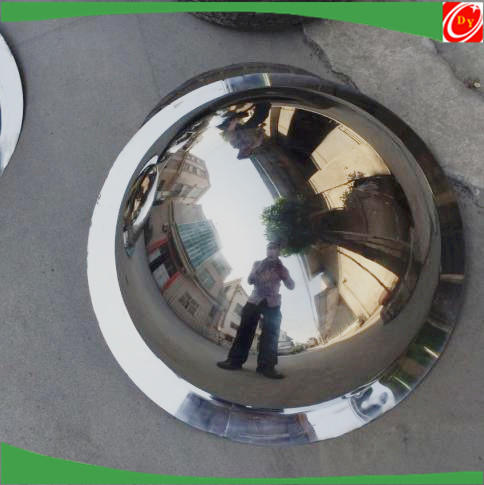 Stainless Steel Material Dome Mirror