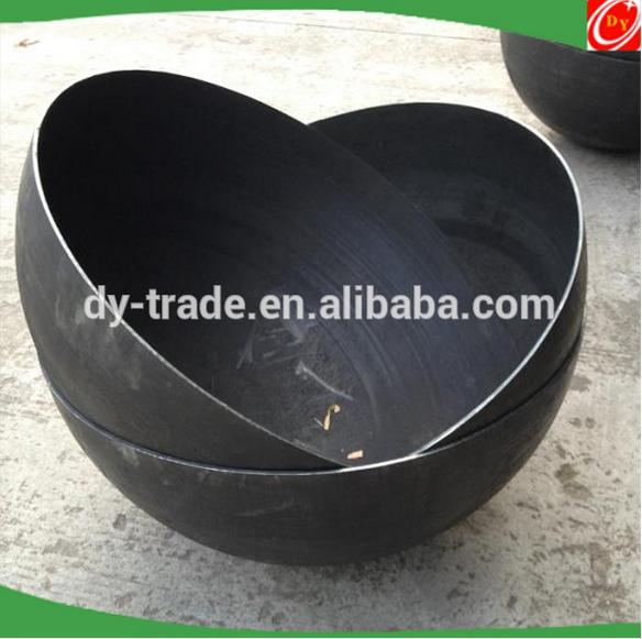 300mm/500mm/1000mmmm Mild steel hemisphere /hollow half ball