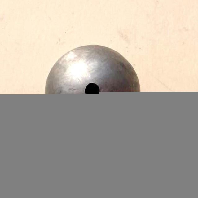 100mm Carbon Steel Half Ball,Iron Steel Hemisphere for Indoor and Outdoor Decoration