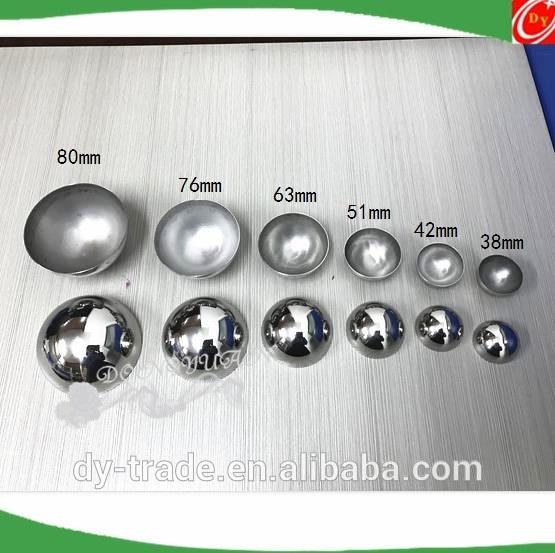 Metal Two Half Bath Molds 3.5', 3', 2.5', 2' ,1.5' for Lush Bath Bombs