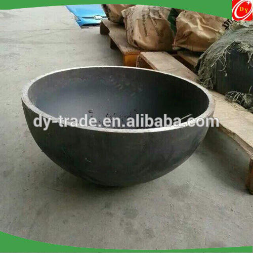 carbon steel hemisphere/half ball ,steel/iron shell cover