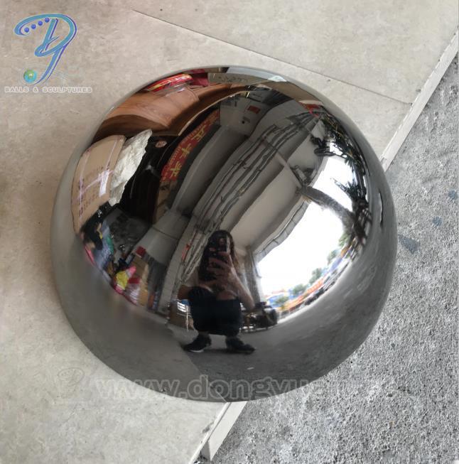 Hemispherical 6 inch Stainless Steel Ball