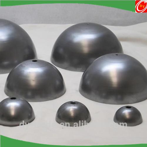 Half alloy aluminum steel iron metal sphere hemisphere