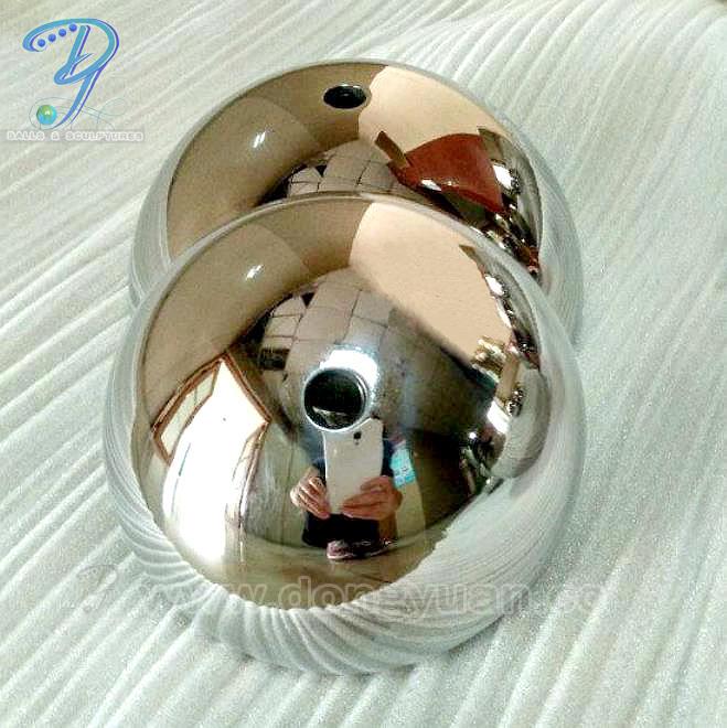 Hemispherical Metal Sphere, 2018 New Stainless Steel Half Ball, Flower Basket Hemisphere Ornament