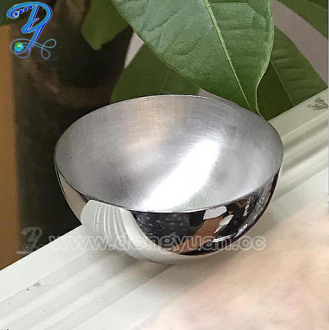 Polish Hollow Stainless Steel Half Ball for BathBombs Molds