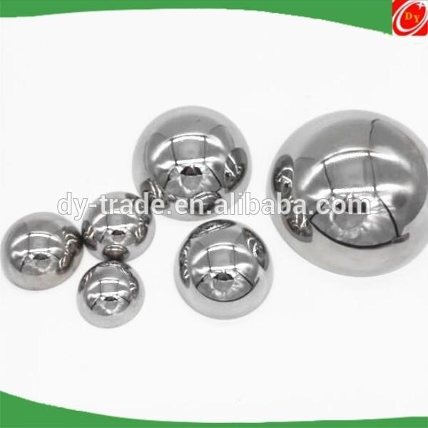 Decorative stainless steel hemisphere