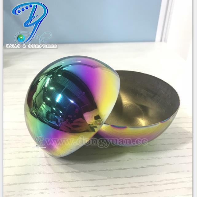Decorative Half Round Ball,Glossy Polished Half Sphere