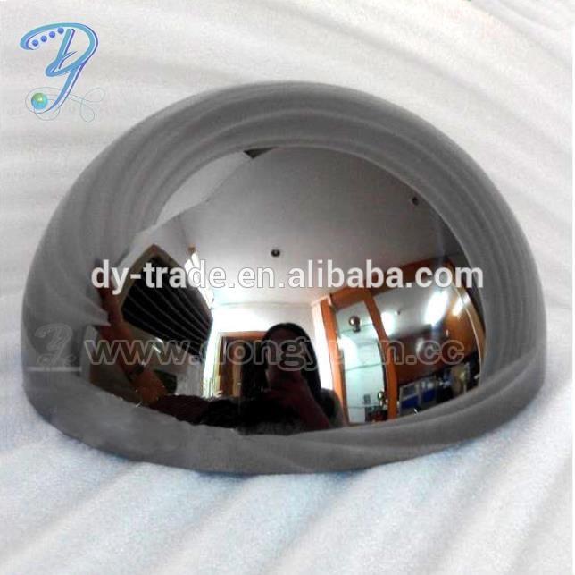 Glossy Inox Steel Half Sphere 200mm