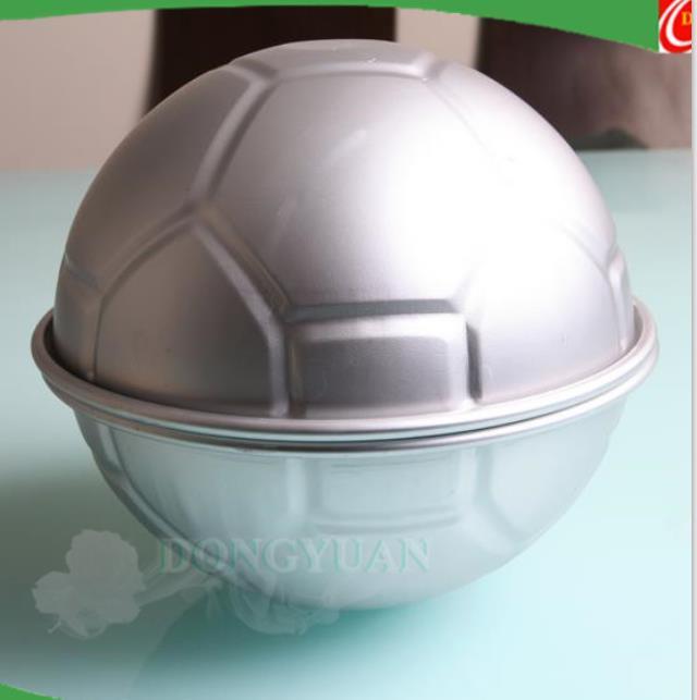 Aluminum Alloy Football Sphere Bath Bomb Molds