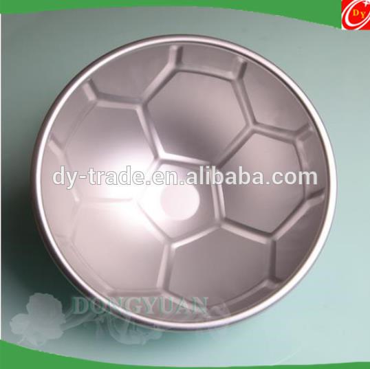 70mm,90mm Metal Football Shape Sphere Bath Bomb Molds