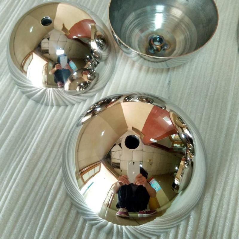 Best selling 20mm-2000mm metal hemisphere ,steel half ball