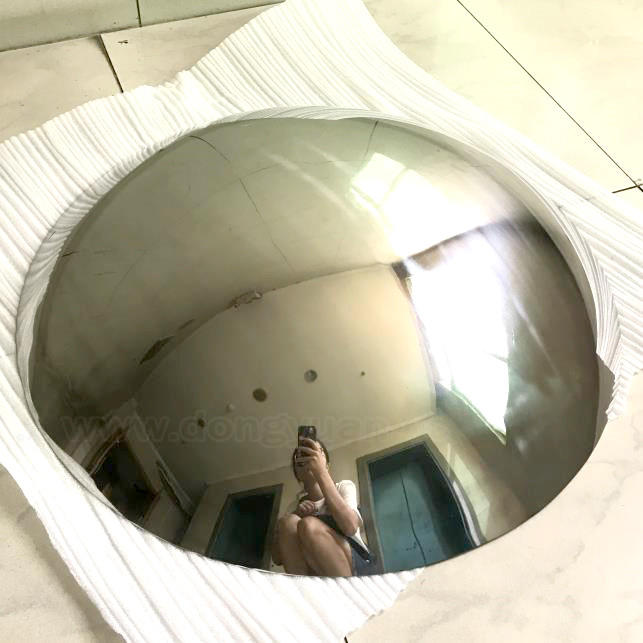 Decorative Stainless Steel Half Sphere 1200mm
