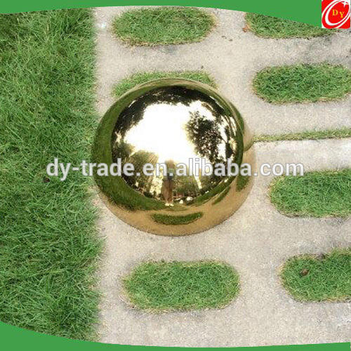 stainless steel hemisphere ,mirror /brushed/ golden finished steel half ball