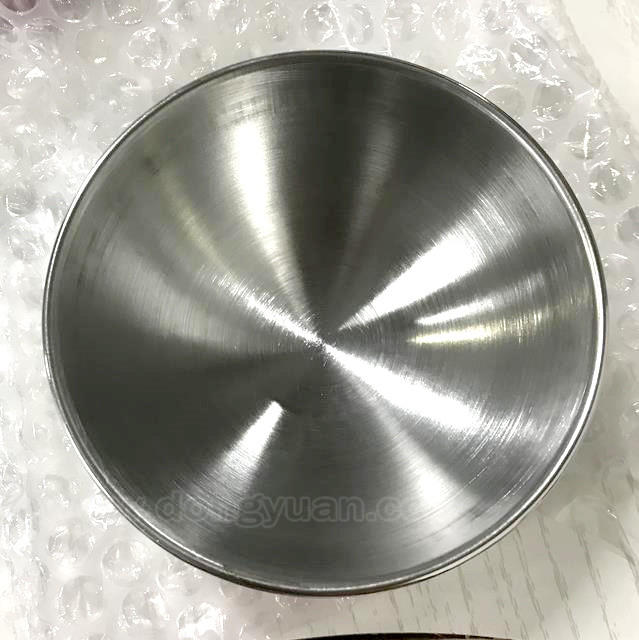 55mm Stainless Steel Half Molds with Brushed Surface for Lush Bath Bombs