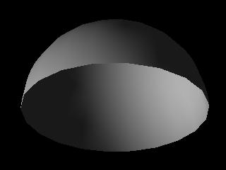 1000mm Large Polished Surface Stainless Steel Hemisphere/Half Sphere/Metal Hemisphere