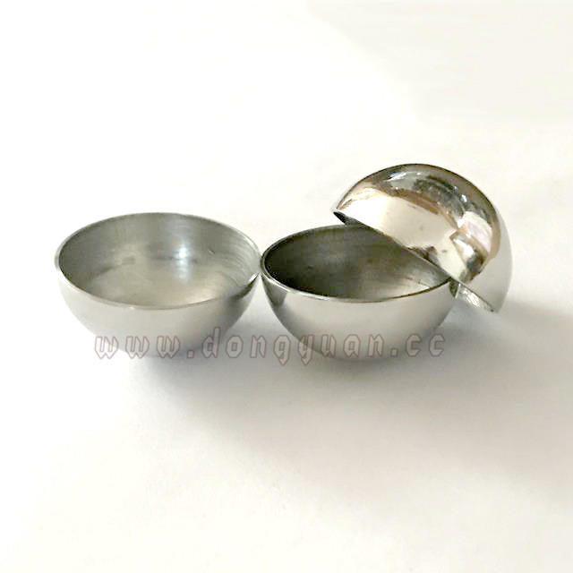 Mirror Stainless Steel Half Round Ball forBath Bomb Moulds