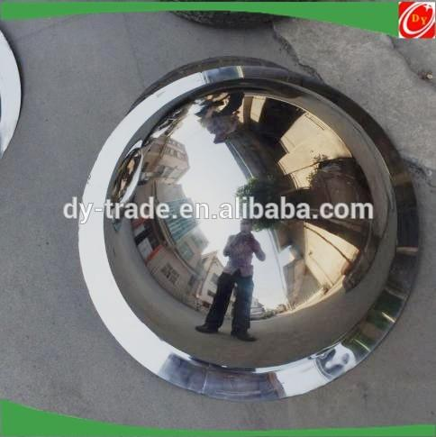 Full Dome Convex Mirror Stainless Steel Half Ball