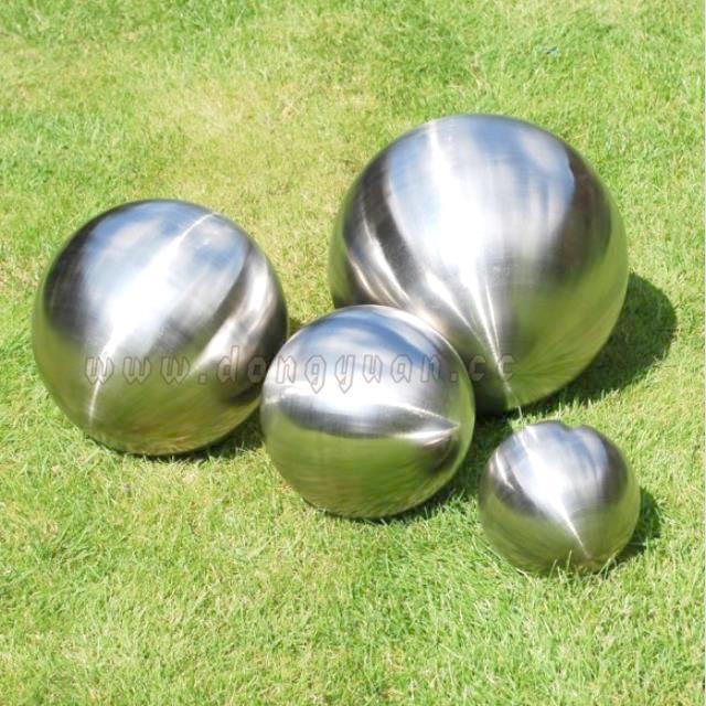 MatteMetal Balls Top Load forGarden Decoration