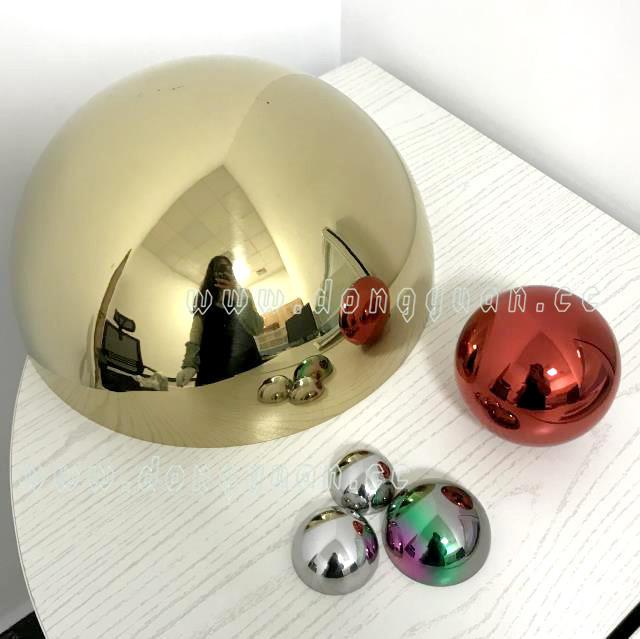 Metal 304 Grade Ball/ Christmas Novelty ItemsStainless Steel Hemisphere