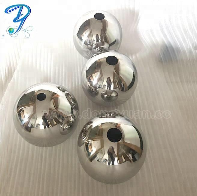 Hanging Stainless Steel Hollow Balls as Lamp Shape for Design Decoration