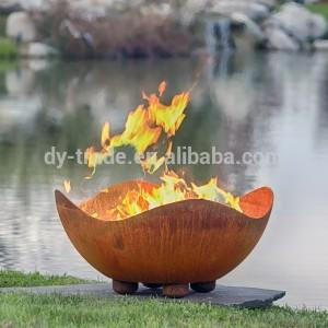 Steel half ball /hemisphere ,mild steel fire pit for outdoor /garden