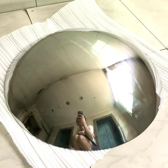 Mirror Polish Stainless Steel Half Sphere,Metal Half Sphere