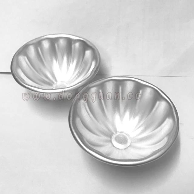 Aluminum Flower Shape Bath Bomb Molds