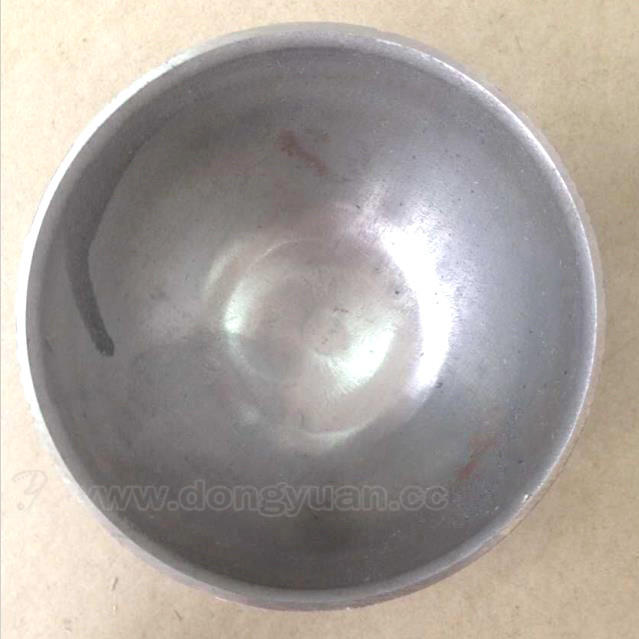 120mm Carbon Steel Half Ball, Mild Steel Sphere with Hole