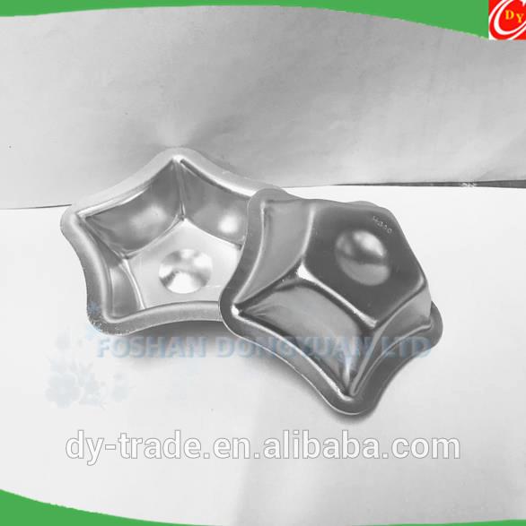 Aluminum Star Shape bath bomb molds