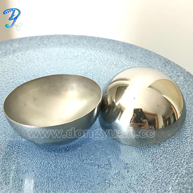 60mm Stainless Steel Bath Bomb Molds for DIY Bath Fizzies Making