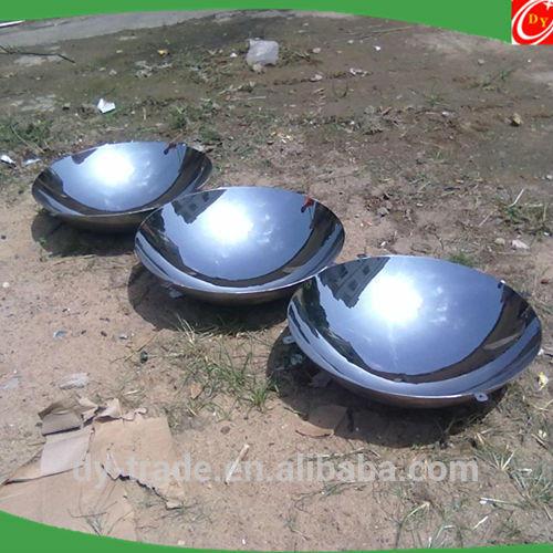 Factory Price Good AISI 316 Gazing shiny metal half sphere