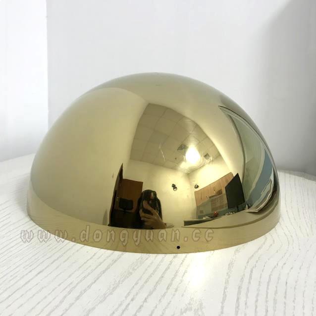 250mm Hollow Stainless Steel Half Sphere