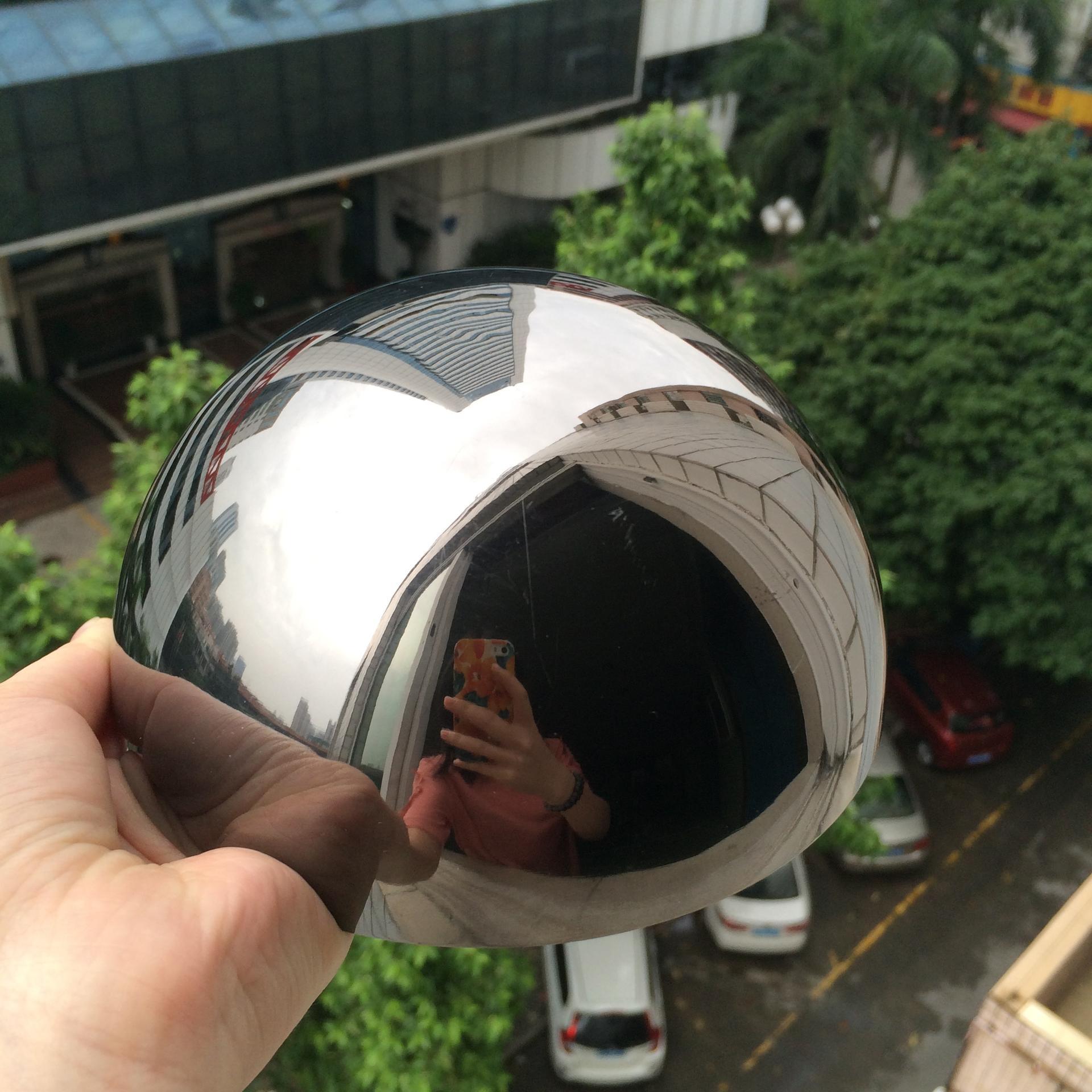 120mm polishing stainless steel hemisphere/semi-sphere/ball