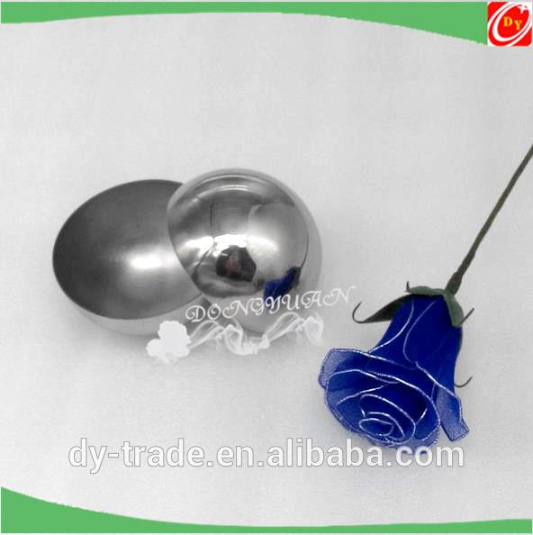 Gazing 304 Metal Grade Steel Half Sphere for Bath Bomb Molds