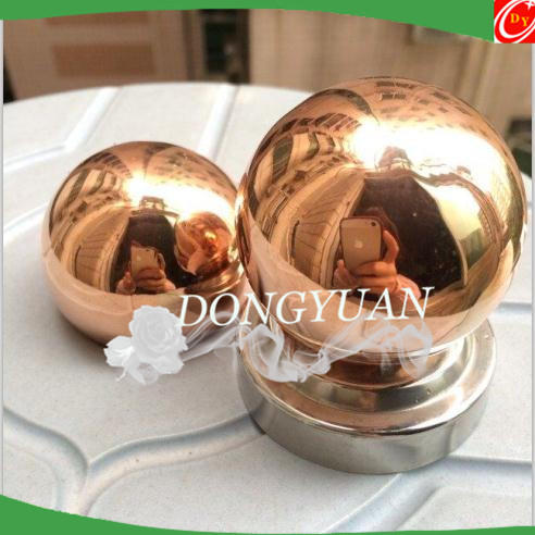 Hollow Copper Sphere, Polished Pure Copper Hollow Ball 80mm