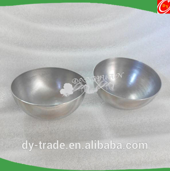 51mm stainless steel bath bomb molds for DIY bath bomb