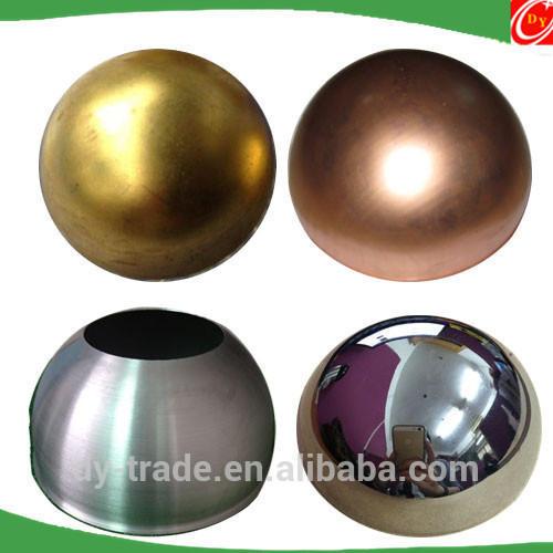 Brass Copper Aluminum Metal Hollow Hemisphere