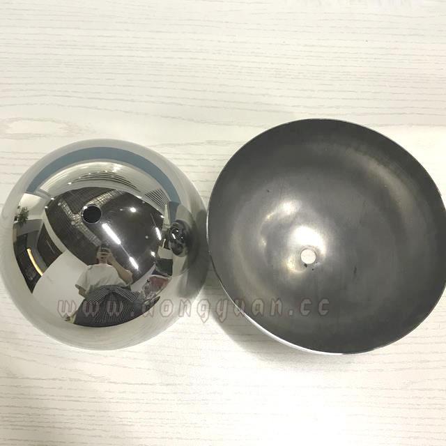 Stainless Steel Hemisphere 150mm Diameter