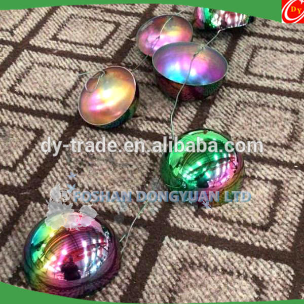 Rainbow Color Stainless Steel Bath Bomb Molds for Bath Bombs Making Gift Sets