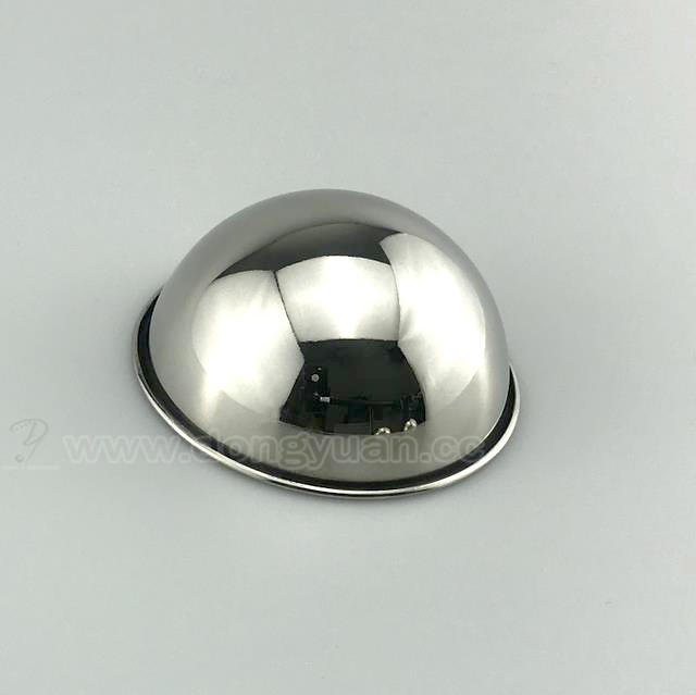 Stainless Steel Hemisphere Mold with RooledEdge for Bath BombMould Making