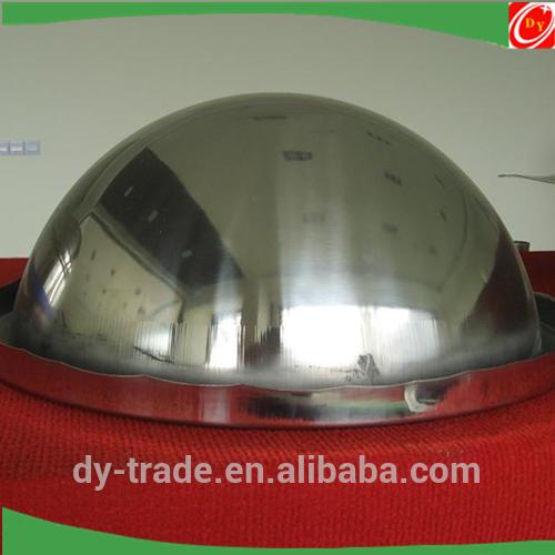 OEM SS304 Rimmed Metal Half Sphere/Stainless Steel Plating Hemisphere/China Supplier