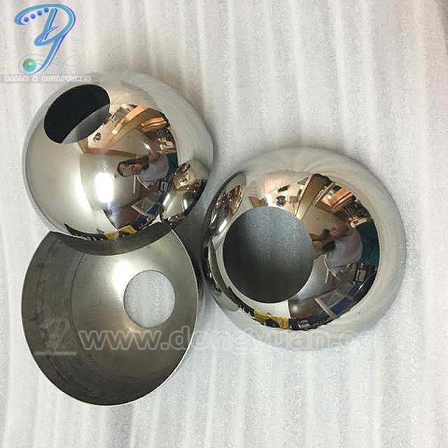 Metal Half Ball for Pendant Lamp, High PolishedBall for Chandelier